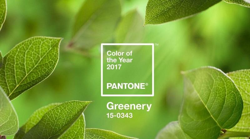 Greenery kolor roku 2017 Pantone DDCMedia