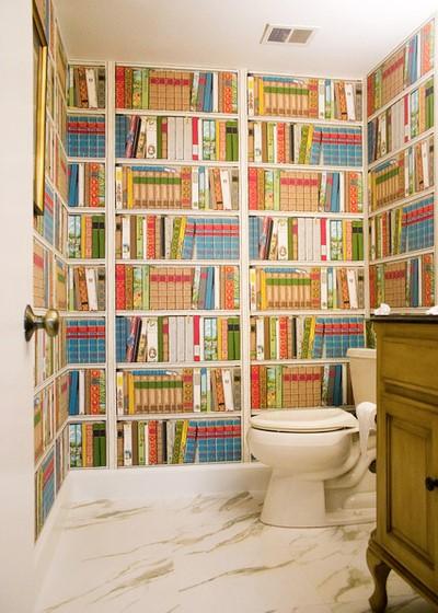 Inspiracje tapety w łazienkach w mieszkaniu